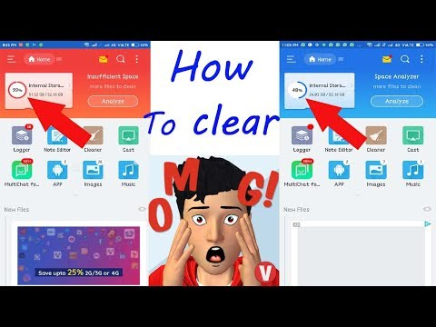 How to clear | Mobile Storage full proplem