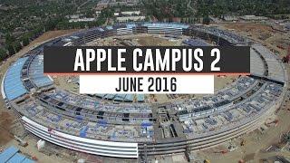 APPLE CAMPUS 2: June 2016 Construction Update 4K