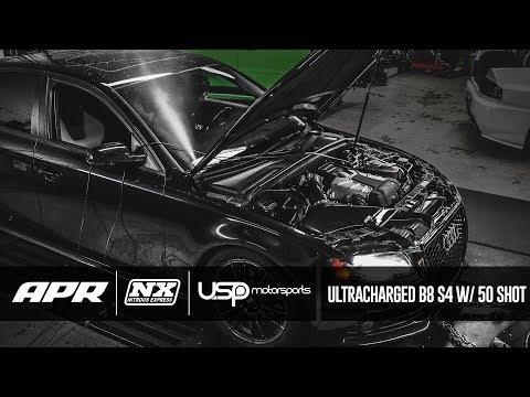 B8 S4 with Nitrous? // APR x USP Motorsports