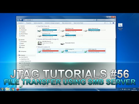 Jtag Tutorials #56 How to Transfer Files from Xbox to PC using SMB