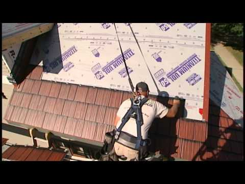 Metal Shake & Slate Roof Installation - Panel Installation 3 of 6