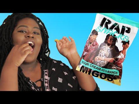 Rap Fans Try Rapper Inspired Chips