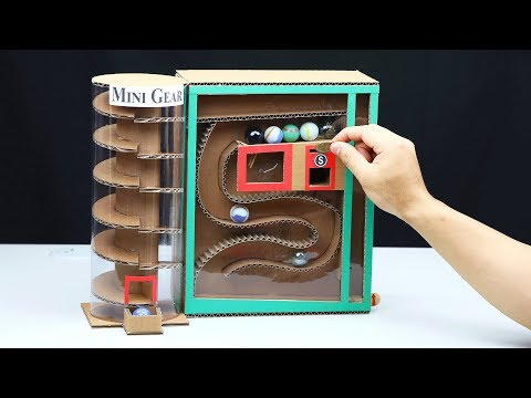 Wow! Amazing Marble Vending Machine with Coin