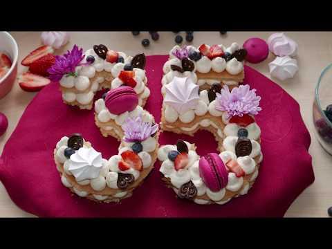 Number (Letter) Cake & Gluten-Free Sponge Cake Recipe | Gluten-Free, Nut-Free, Dairy-Free Cake