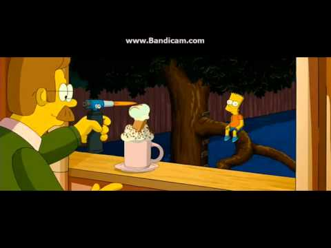 Mr Flanders' Hot Chocolate -The Simpsons Movie