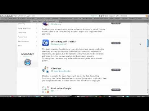 How To Uninstall Safari Extensions