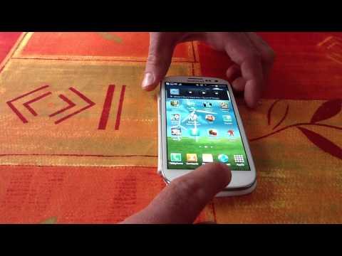 Faire une capture d'écran - Astuce Galaxy S3: Prendre une photo de son écran