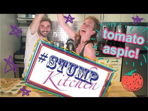 How to make Tomato Aspic w/ 52 Skillz! Stump Kitchen 9