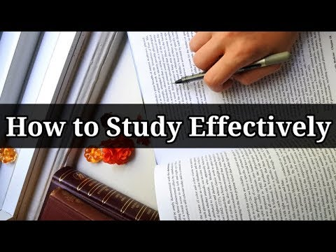 How to Study Effectively // Set Up a Productive Study Session