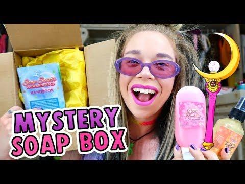 SAILOR MOON!! 'Soap Box' UNBOXING!