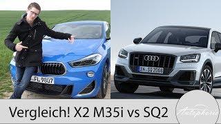 Download Vergleich der Power-SUVs: BMW X2 M35i gegen Audi SQ2 - Autophorie Video