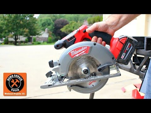 Milwaukee M18 Cordless Circular Saw (6-1/2