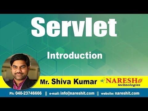 Servlet Tutorials | Introduction to Servlet | Advanced Java Tutorial | Mr.Shiva Kumar