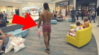 I WENT SHOPPING IN MY BOXERS..
