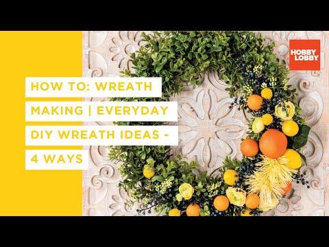 Everyday Wreath 4 Ways
