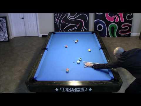 15 Ball Rotation Break and Run Out / Pool Billiards 9ball 8ball