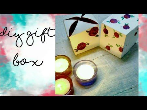 How to make gift Box   DIY gift Box   Easy Gift Packing