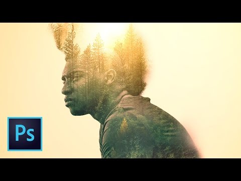 Double Exposure Photo Effect Photoshop Tutorial