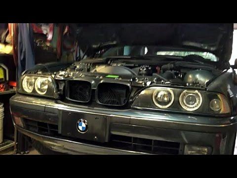 BMW E39 OIL LEAK PROBLEM