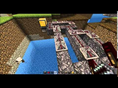 Minecraft - How to put a circuit breaker into a pulse generator
