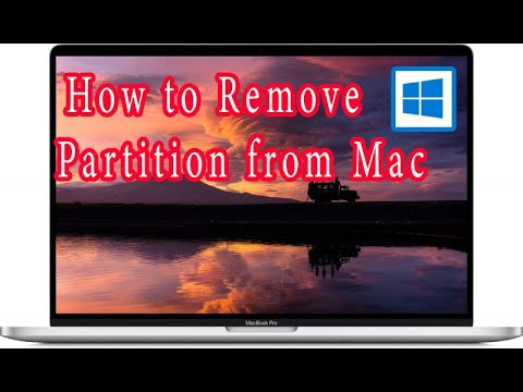Remove Windows Partition From Mac OS X