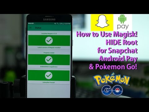 How to Use Magisk to HIDE Root for Snapchat, Android Pay, & Pokemon Go! [LATEST METHOD]