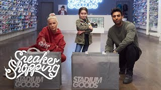 Luna Stracci Goes Sneaker Shopping With Halsey and Complex