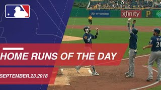 Watch all the home runs from September 23, 2018