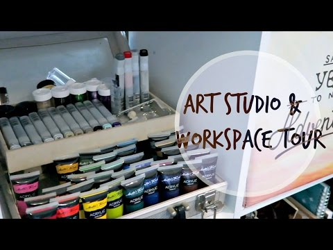 Art Studio    Workspace Tour    2017