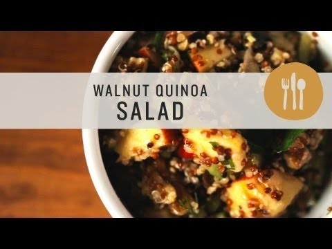 Walnut Quinoa Salad