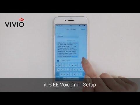 iOS EE Voicemail Setup