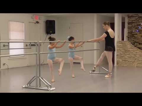 Ballet Arts of Austin: Age 6, Beginning Ballet Class Demonstration, Ms. Tiffany