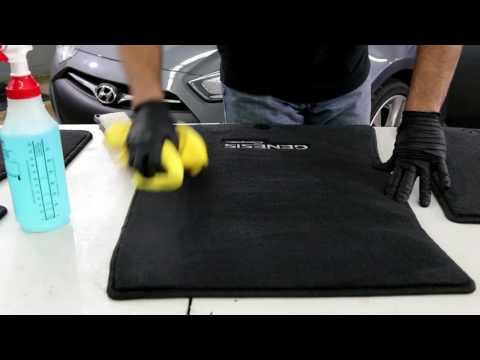 How to Clean Floor Mats!