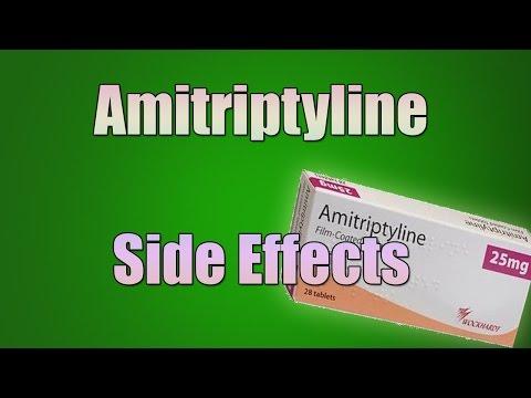 Amitriptyline (Elavil) Side Effects