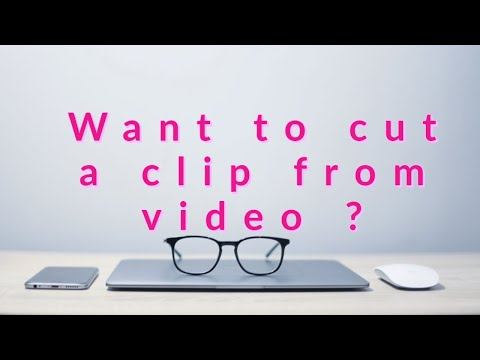 How to cut a clip from movie Using the format Factory