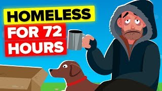 I Went Homeless For 72 Hours (CHALLENGE)