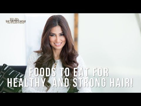 Foods to Eat for Healthy and Strong Hair | Healthy Food For Hair