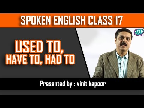 Spoken English Class 17 | Speak English through Structures| Sentence Structures| By Vinit Kapoor
