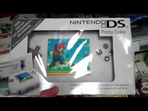 Nintendo DS Party Cake