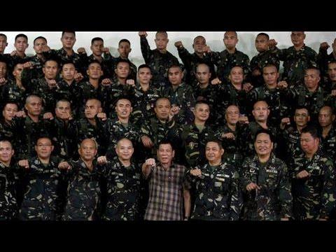 Philippine President Rodrigo Duterte Makes His Mark