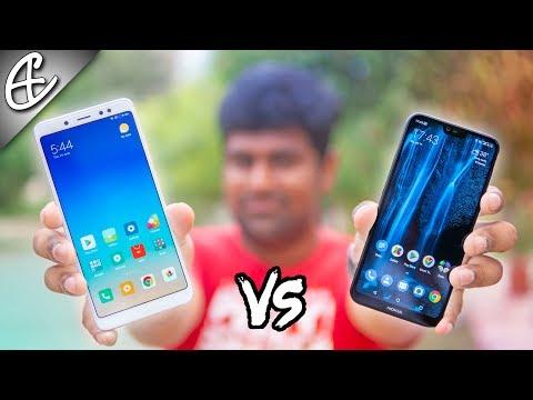 Nokia X6 vs Redmi Note 5 Pro Comparison - Xiaomi has Competition!!!!