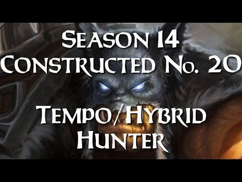 Hearthstone: Protohype's Tempo/Hybrid Hunter - Cloud 9 and 10 [Season 14 Road to Legend #20]
