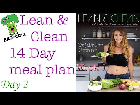 Lean & Clean 14 Day Meal Plan | Day 2 | Week 1