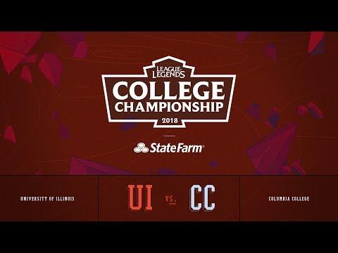 Columbia vs Illinois | Semifinals Game 3 | 2018 College Championship | CC vs UI