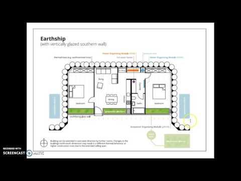 Earthship Project Blueprint Info.
