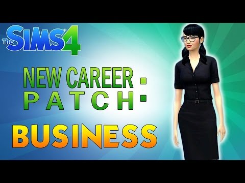 SIMS 4 BUSINESS CAREER LOOK | December 16 Patch
