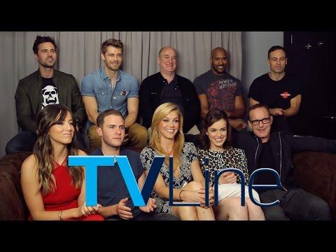 Agents of S.H.I.E.L.D. Cast Interview at Comic-Con 2015