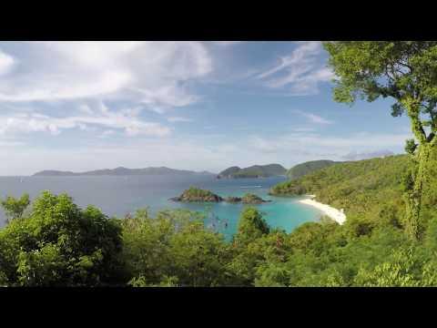 St John Trunk Bay Overlook (Time-Lapse)