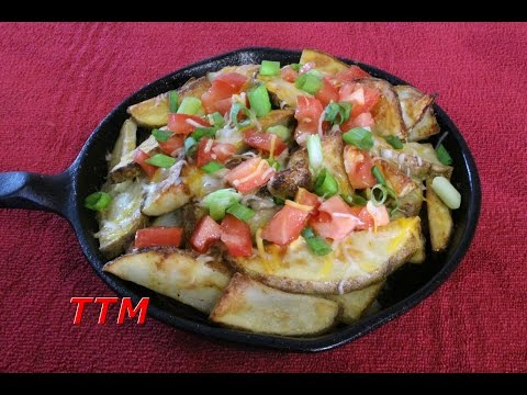 Fast and Easy Hamburger and Oven Fries Skillet~Easy Cooking
