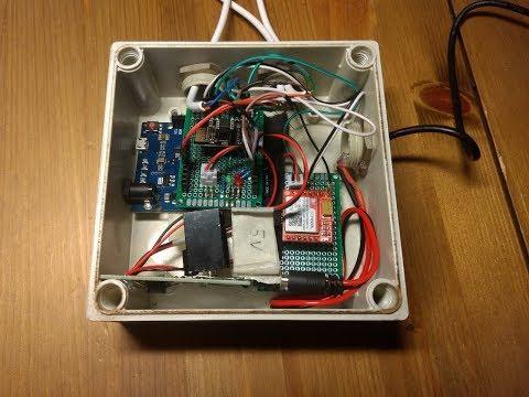 Hacklab: Burglar alarm - Part 3 - Adding SMS capabilities using SIM800L module